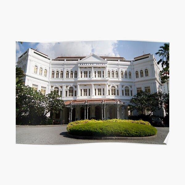 Raffles Hotel, Singapore Poster
