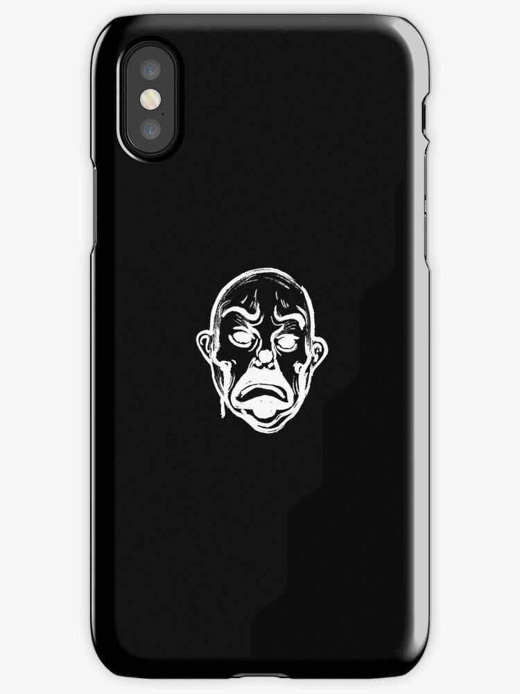 Joker (w) Iphone case by 4SAS