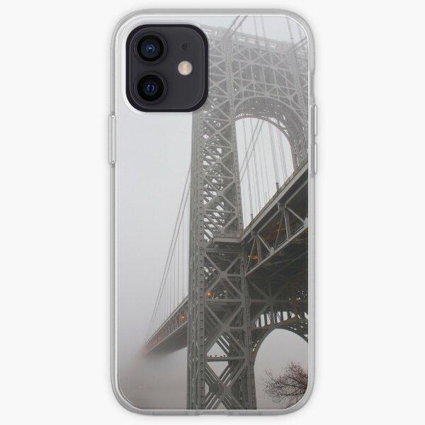 George Washington Fog iPhone Soft Case