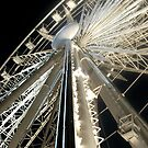 Pensacola Beach Wheel by Bill Gamblin