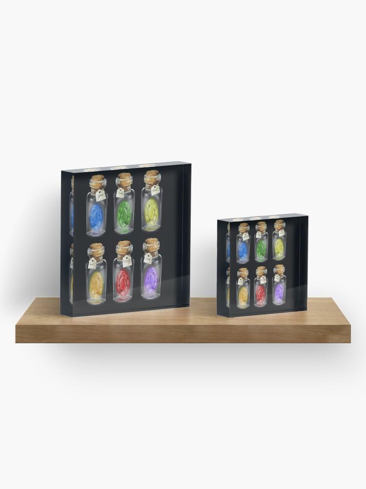 Alternate view of Complete set of *Infinity Stones*  Acrylic Block
