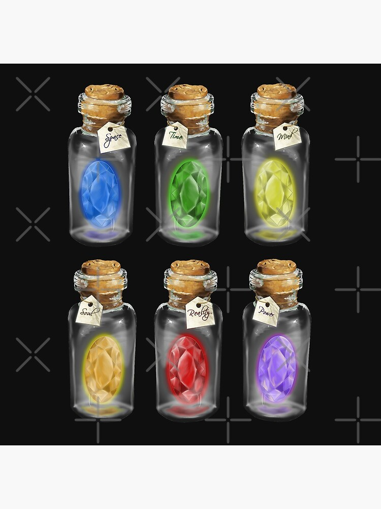 Complete set of *Infinity Stones*  by drawnexplore