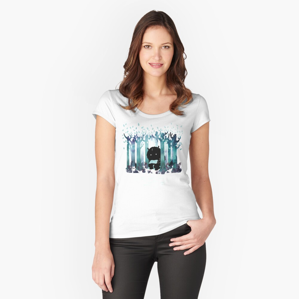 A Quiet Spot Fitted Scoop T-Shirt