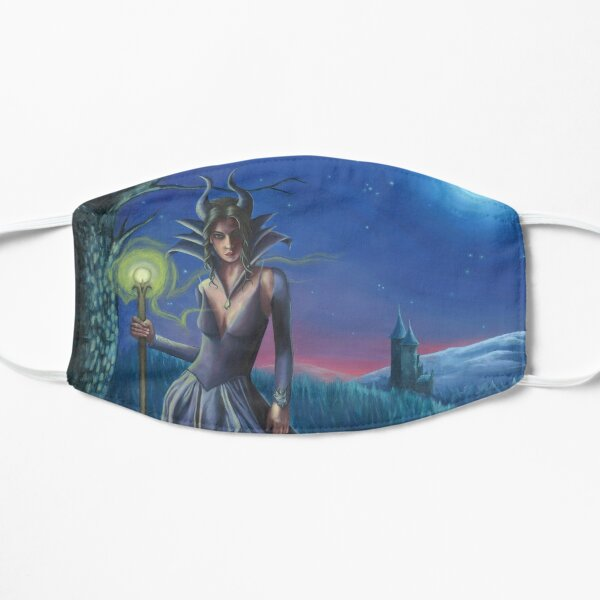 Maleficent Art Villain Art Fairy Tale Sleeping Beauty Mask