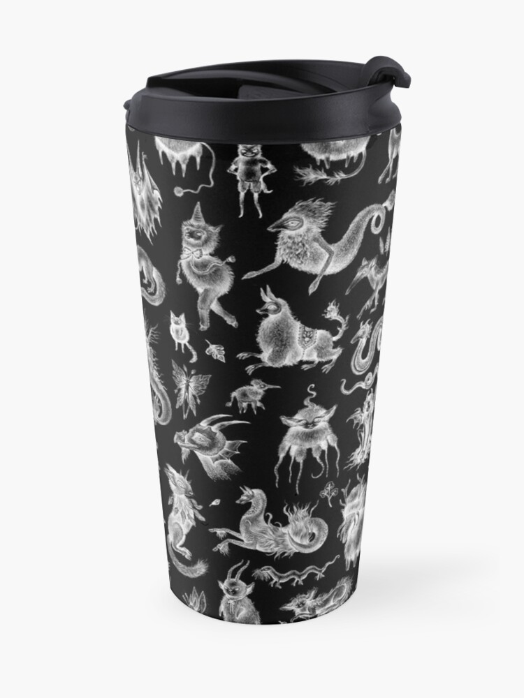 Alternate view of We Are Not Alone - inverted Travel Mug