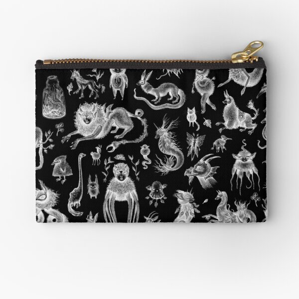 We Are Not Alone - inverted Zipper Pouch