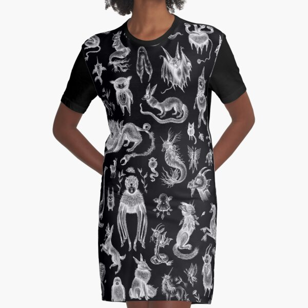 We Are Not Alone - inverted Graphic T-Shirt Dress