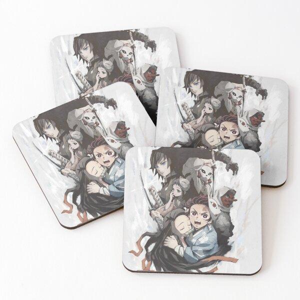 Demon Slayer Coasters (Set of 4)