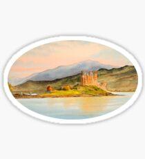 Eilean Donan Castle Western Highlands Scotland Sticker