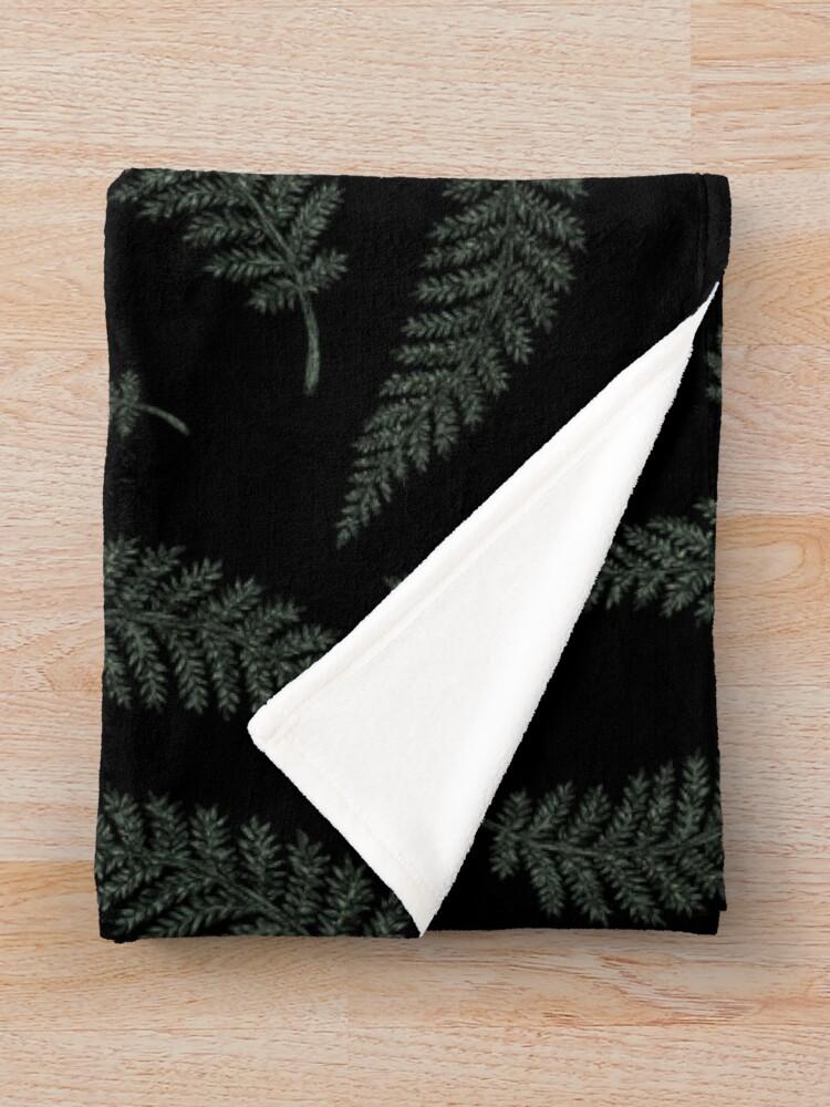 Alternate view of Fern Witch Throw Blanket