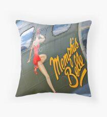 """""""Memphis Belle"""" - HDR Throw Pillow"""