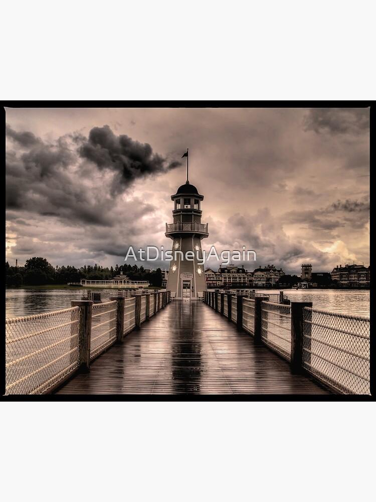Stormy Lighthouse  by AtDisneyAgain