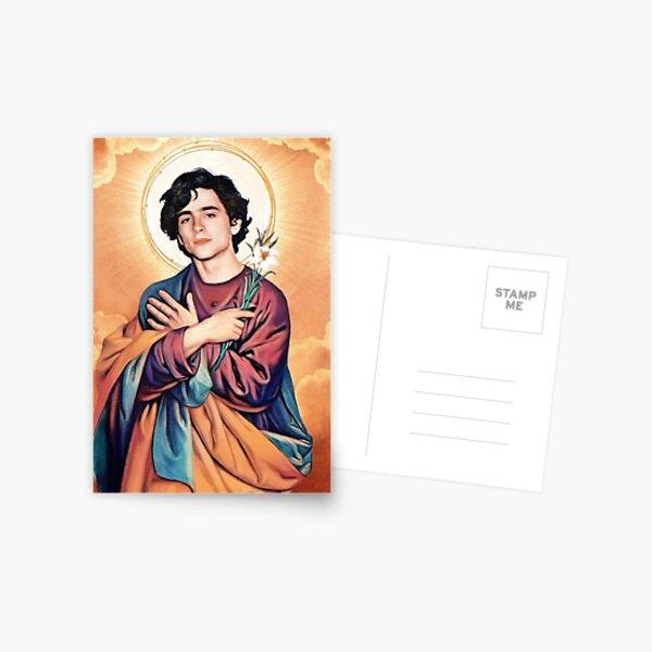 Saint Timothee Chalamet  Postcard