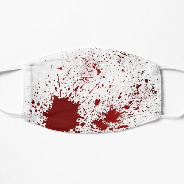 Blood Splatter Flat Mask