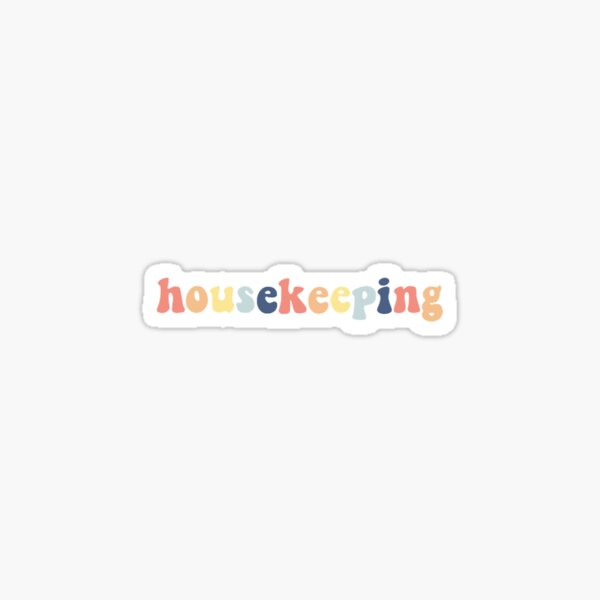 Outer Banks Housekeeping Multi Sticker