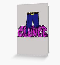 "The Inbetweeners - ""Knee deep in Clunge!"" Greeting Card"