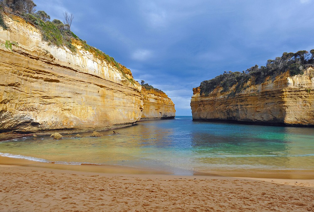 Lock Ard Gorge. Port Campbell National Park, Victoria, Australia. (2) by Ralph de Zilva