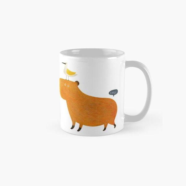 Hapybara Capybara Classic Mug