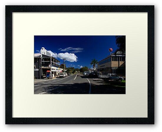 Main Street Billinudgel by Noel Elliot