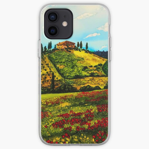 Tuscan Villa in Tuscany, Italy iPhone Soft Case