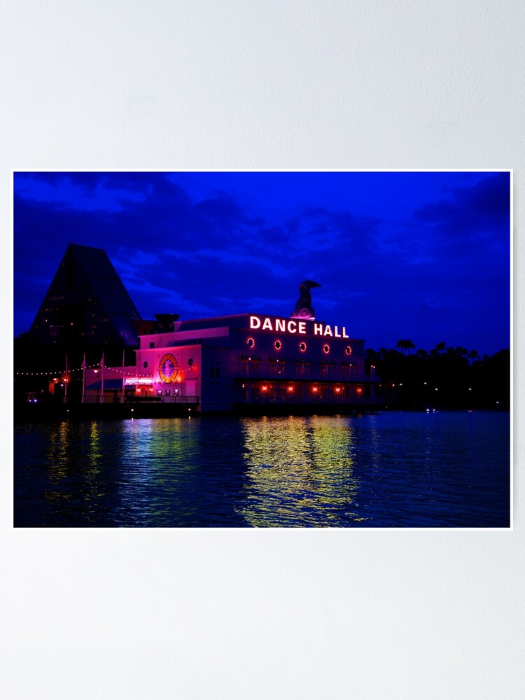 Alternate view of Dance Hall - Crescent Lake Poster