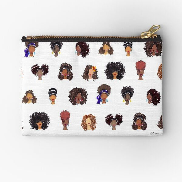 How To Be Curly Zipper Pouch