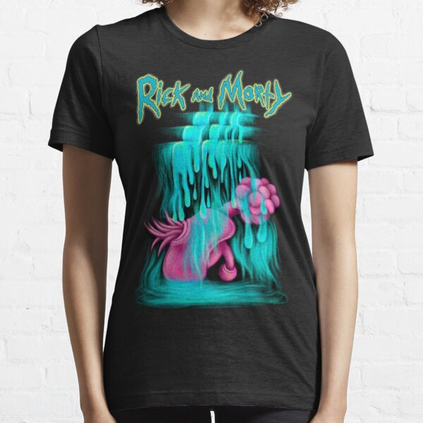 Rick and Morty Plumbus Waterfall Essential T-Shirt