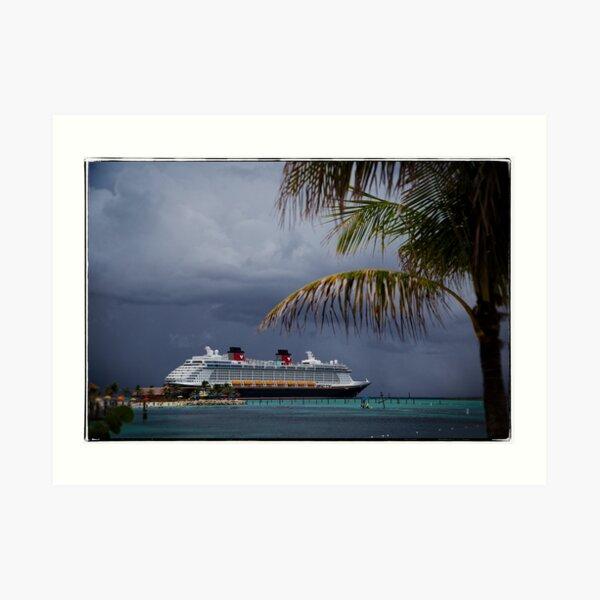 Dream at Castaway Cay Art Print