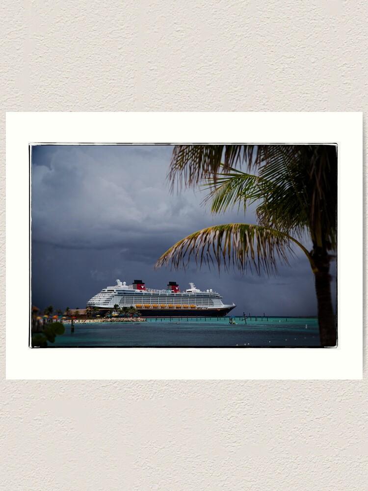Alternate view of Dream at Castaway Cay Art Print