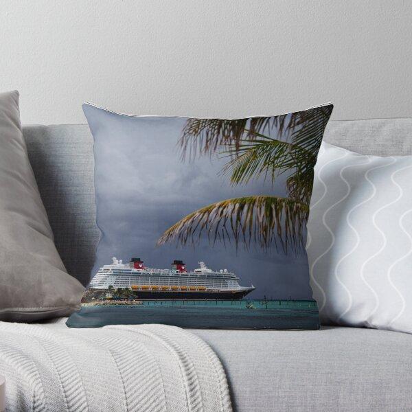 Dream at Castaway Cay Throw Pillow