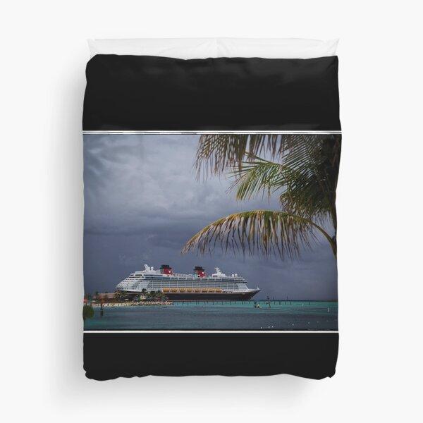 Dream at Castaway Cay Duvet Cover