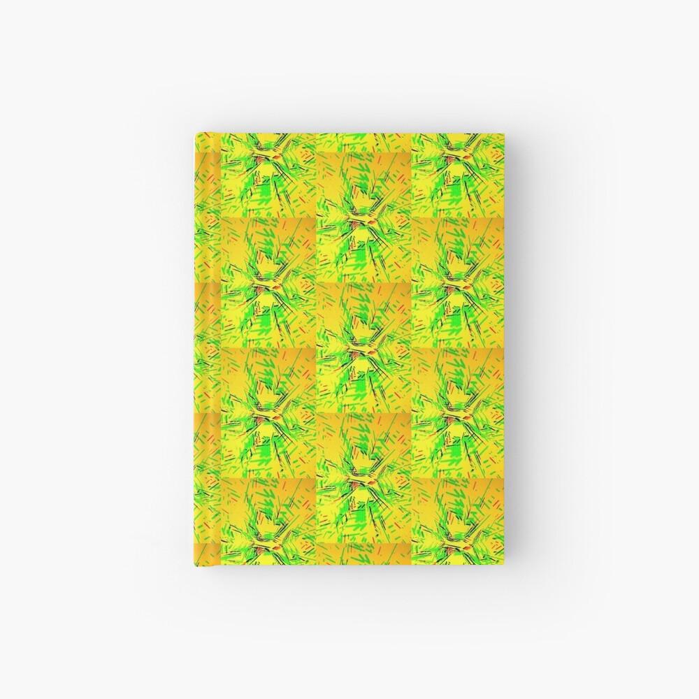 Grüne Stöcke Notizbuch