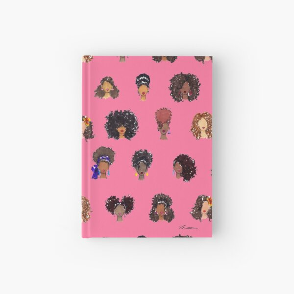 How To Be Curly Hardcover Journal
