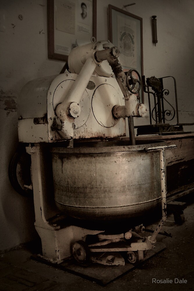 The Bakery #1 ~ Gulgong Museum, NSW by Rosalie Dale