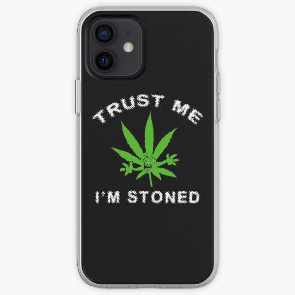 Very Funny Stoned Marijuana iPhone Soft Case