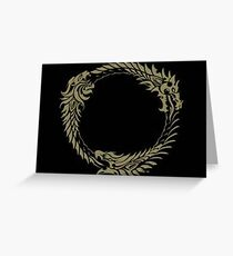 Elder Scrolls online Greeting Card