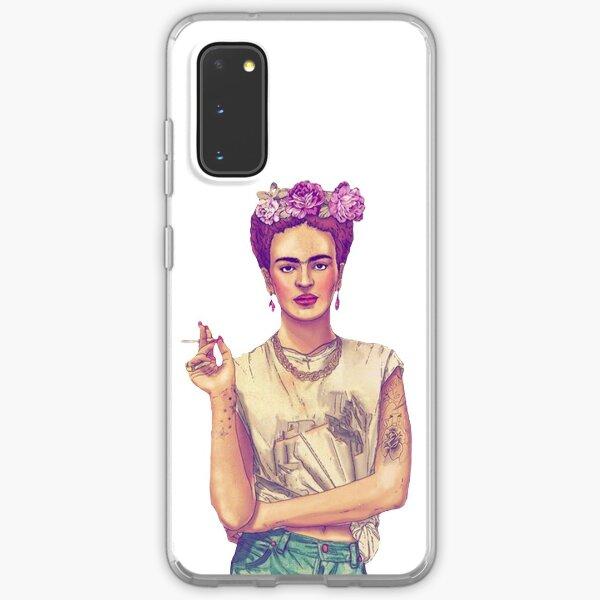 Rauchen Frida Kahlo Samsung Galaxy Flexible Hülle