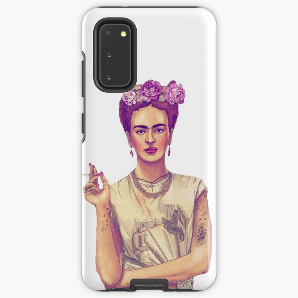 Smoking Frida Kahlo Samsung Galaxy Tough Case