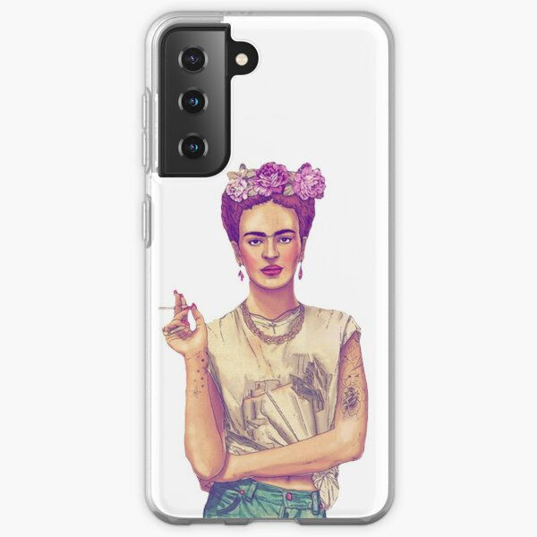 Smoking Frida Kahlo Samsung Galaxy Soft Case