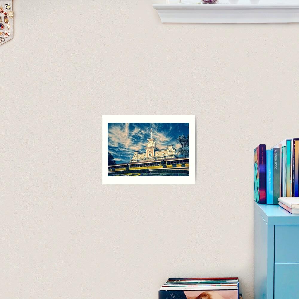 Blue Sky Kingdom Art Print