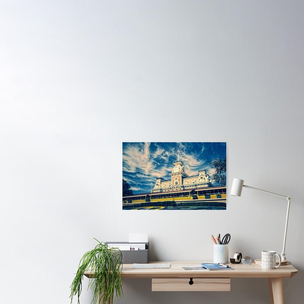 Blue Sky Kingdom Poster