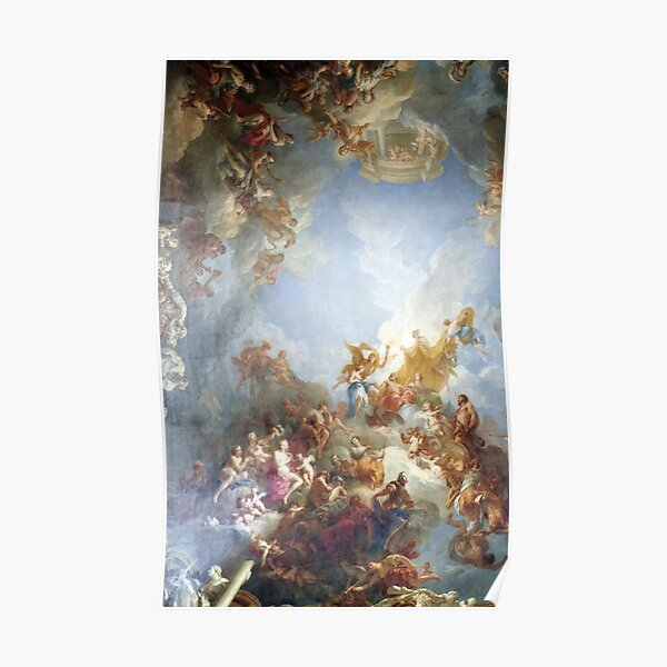 Ceiling at Versaille Renaissance Painting  Poster