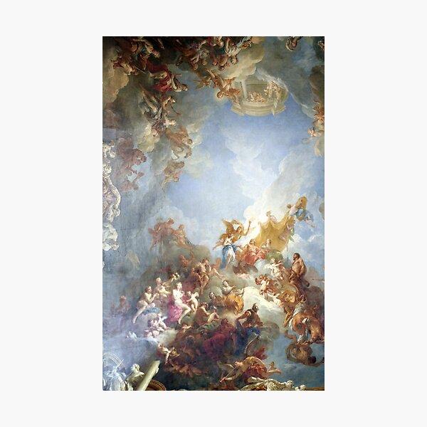Ceiling at Versaille Renaissance Painting  Photographic Print