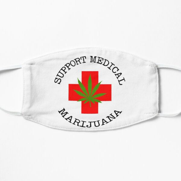 Support Medical Marijuana Mask