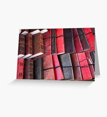artscapes #80, leather bound Greeting Card
