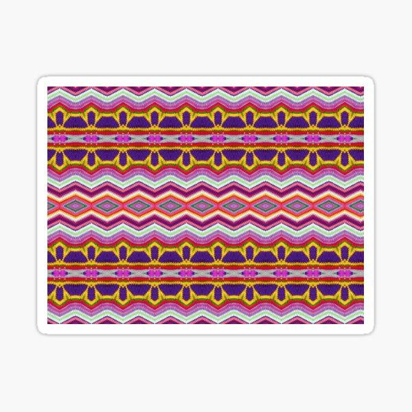 Crochet sound waves Sticker