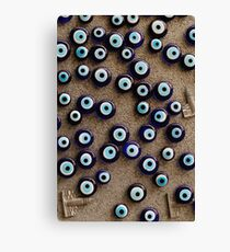 With so many eyes it's hard to focus Canvas Print