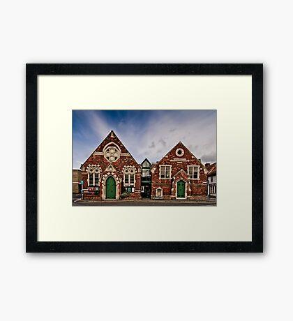 Wallingford Methodist Church Framed Print