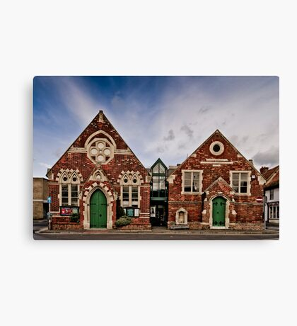 Wallingford Methodist Church Canvas Print