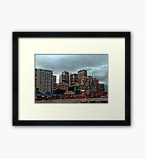 On a Dull Afternoon Framed Print